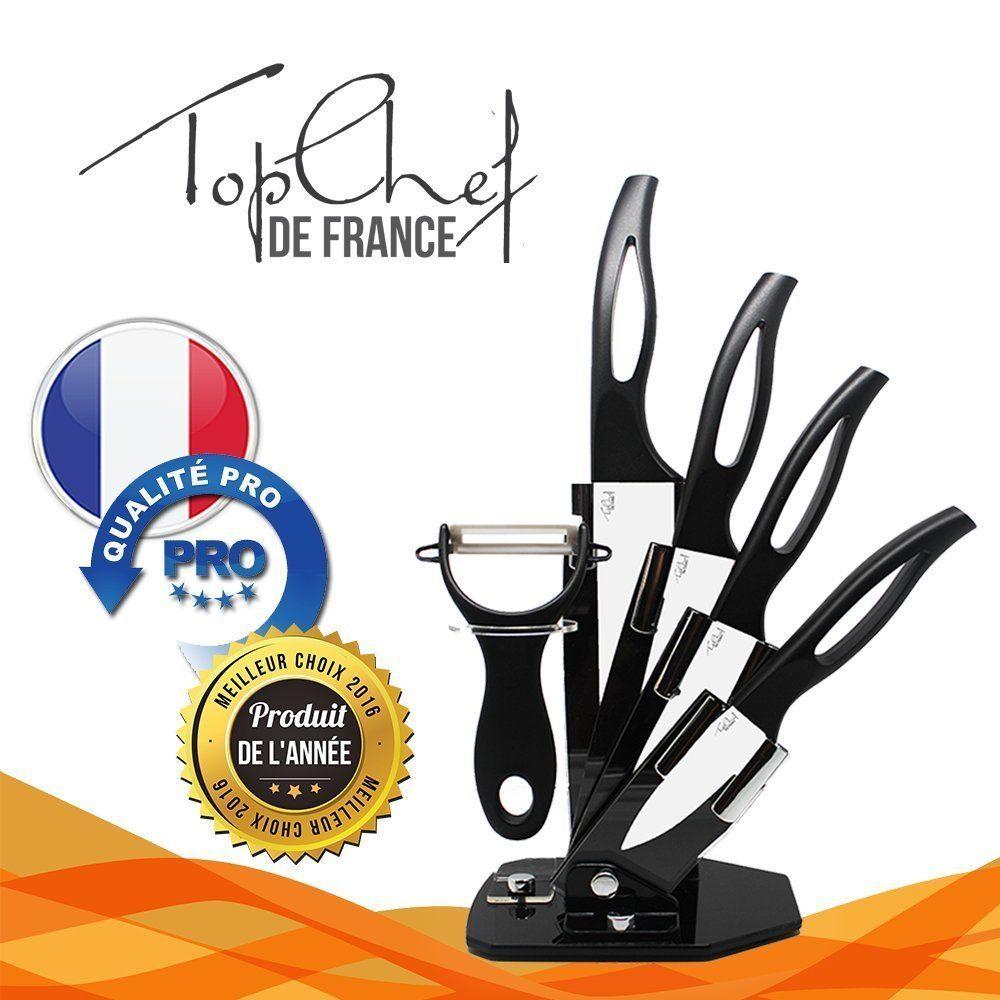 Couteaux en céramique Top Chef de France
