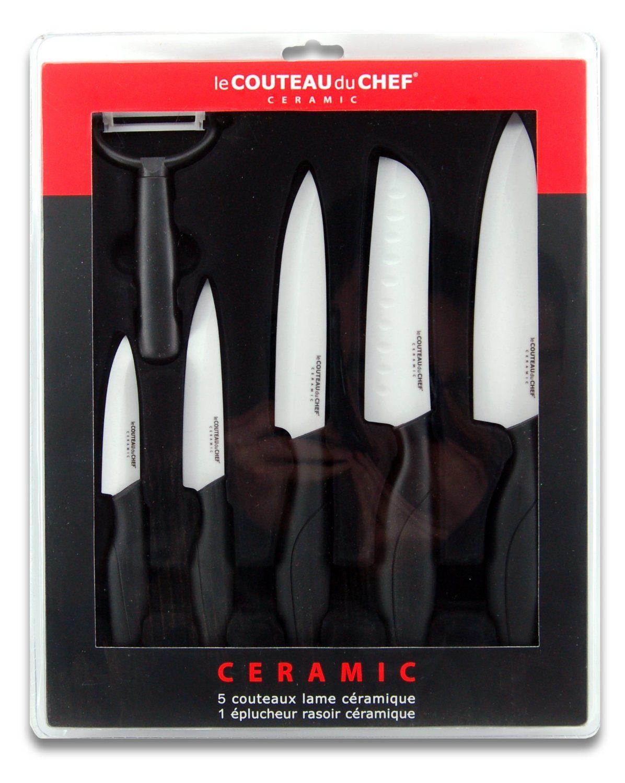 Coupes nettes pour ces couteaux en céramique