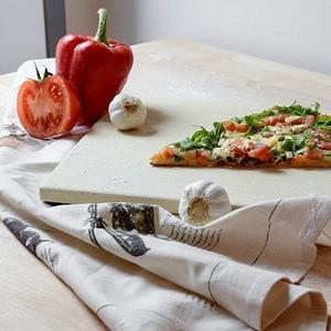 Multi support, cette pierre à pizza accueille toutes sortes de produit